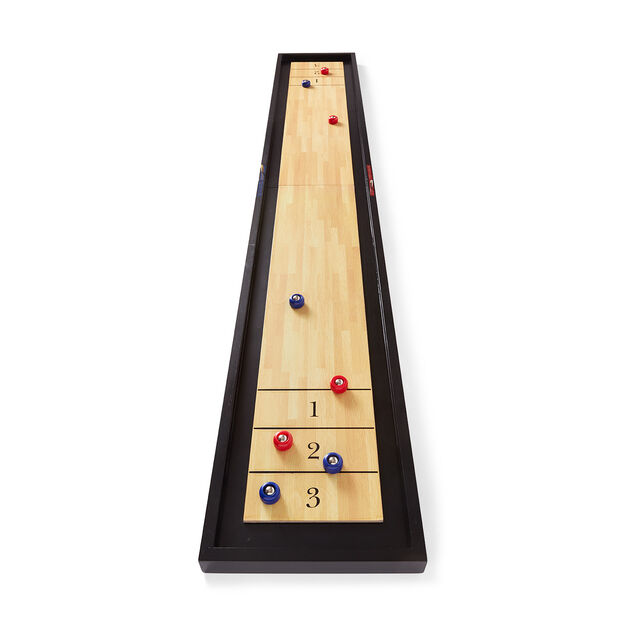Tabletop Shuffleboard Game in color
