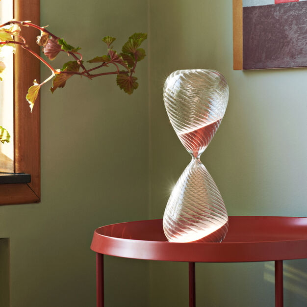 HAY 90-Minute Time Hourglass in color Copper