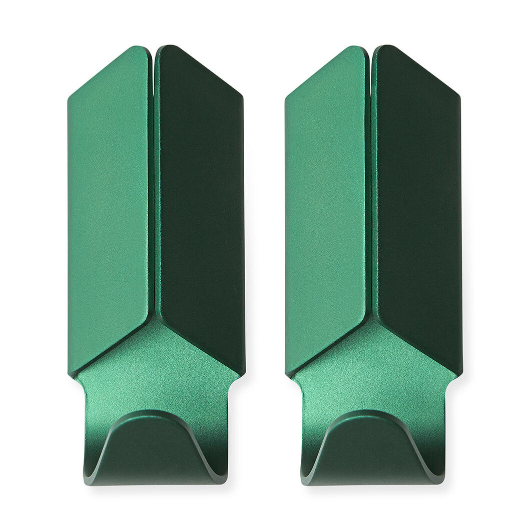 HAY Volet Hook Green Set of 2 in color Green