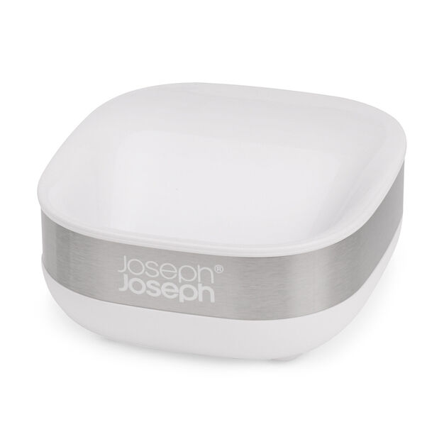 Slim Steel Soap Dish in color