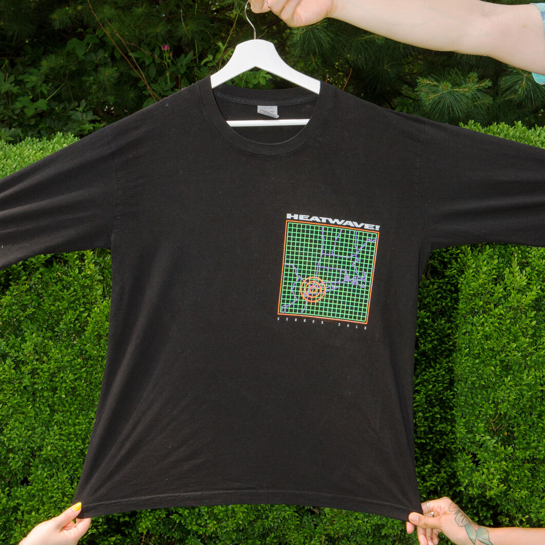 Warm Up Capsule Collection: Long Sleeve T-Shirt by Hassan Rahim in color