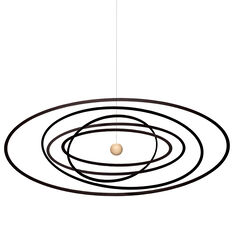 Solar System Ellipse Mobile in color