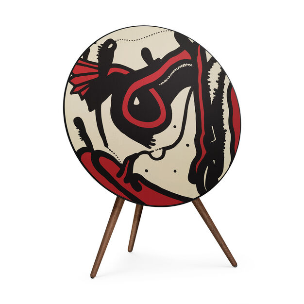 Bang & Olufsen Beoplay A9 Speaker featuring artwork by David Lynch in color