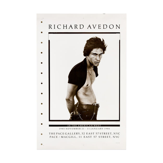 Richard Avedon: In the American West Poster in color
