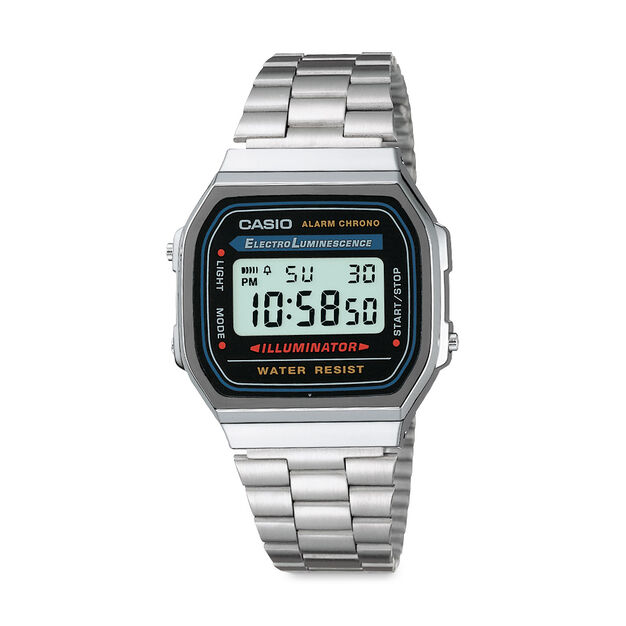 Casio Digital Watch Silver in color