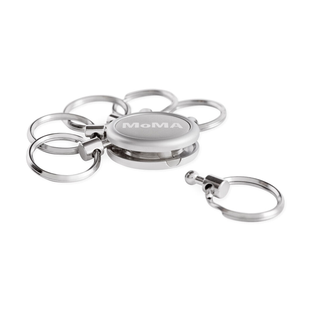 MoMA Key Ring Organizer in color