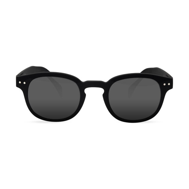 IZIPIZI Reading Sunglasses #C in color Black