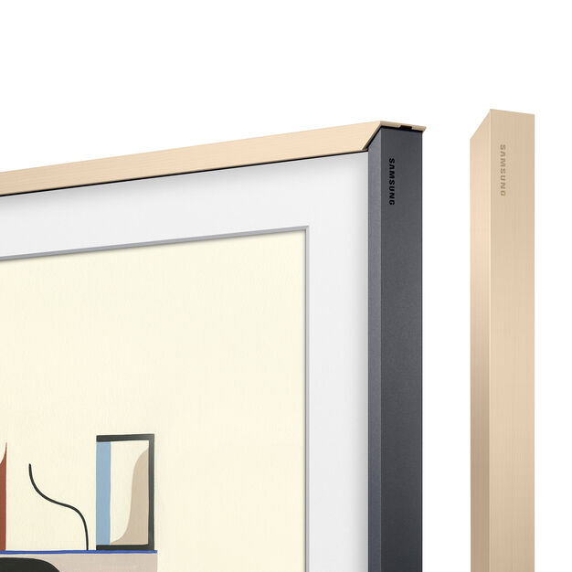 Samsung Customizable Bezels for The Frame TV in color Beige