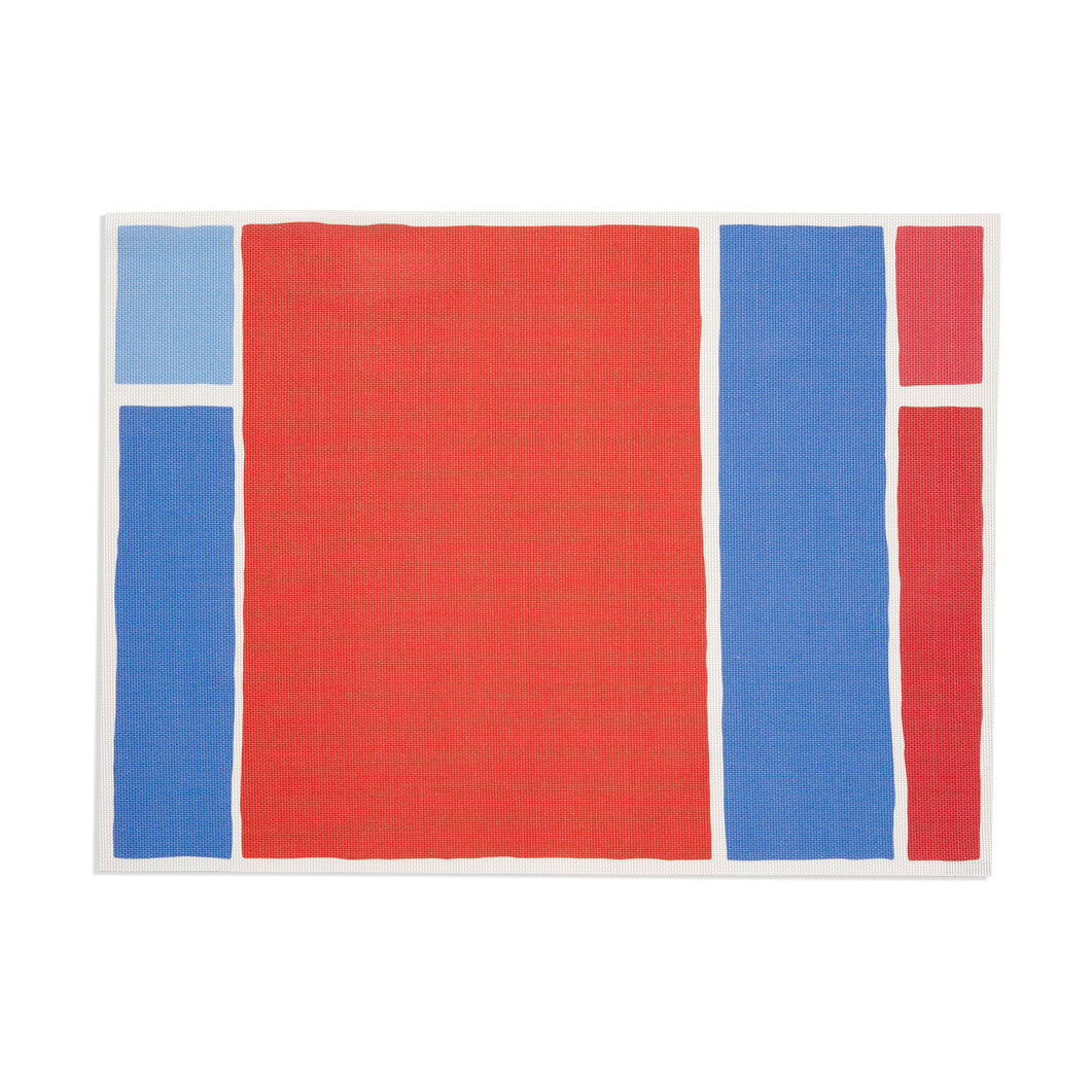 Chilewich Maptone Placemat in color Tomato