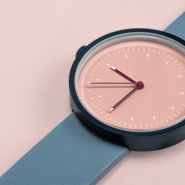 Interval Watch in color Blue