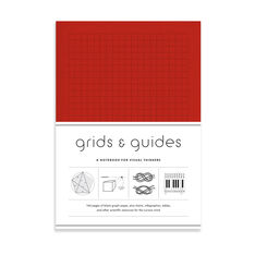 Grids & Guides Activity Book - Red Edition - Clothbound in color