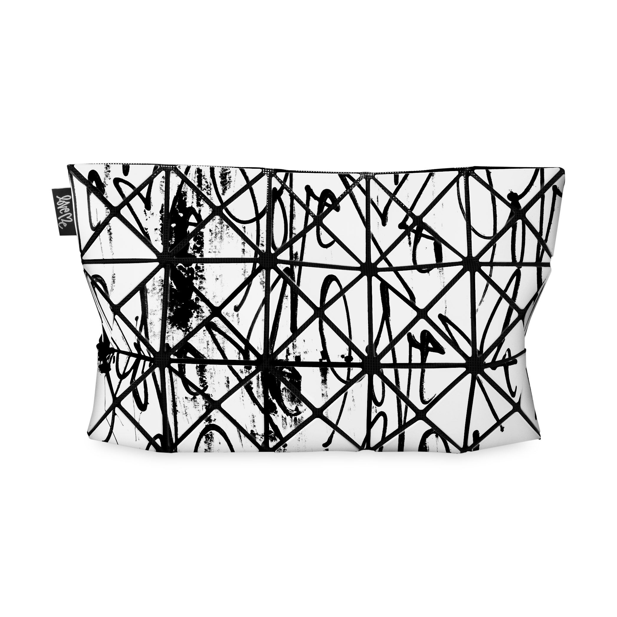 bao bao love me clutch black in color