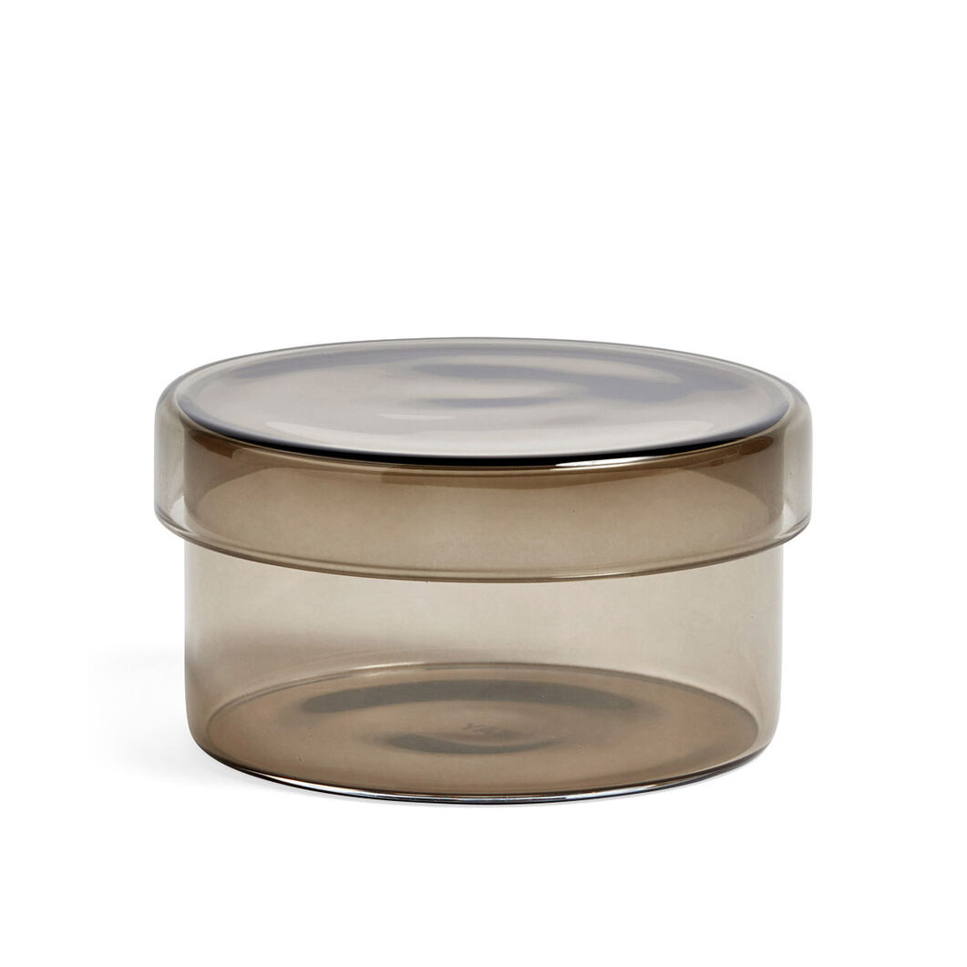 HAY Medium Glass Containers in color Gray