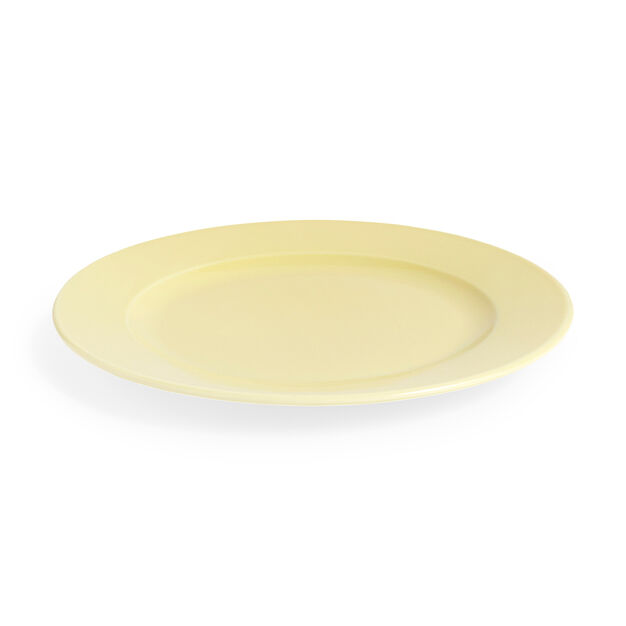 HAY Rainbow Plate in color Light Yellow