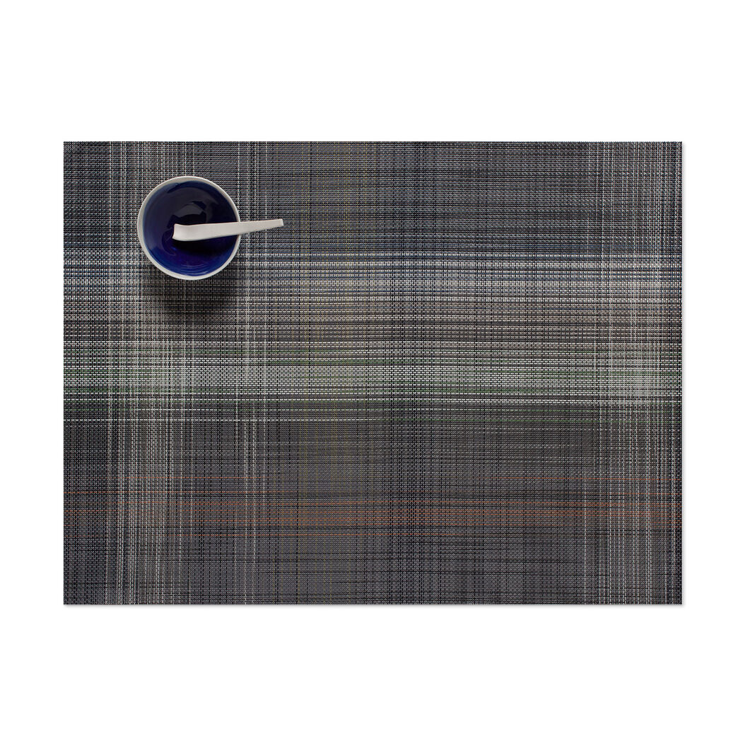 Chilewich Plaid Placemat in color Gray