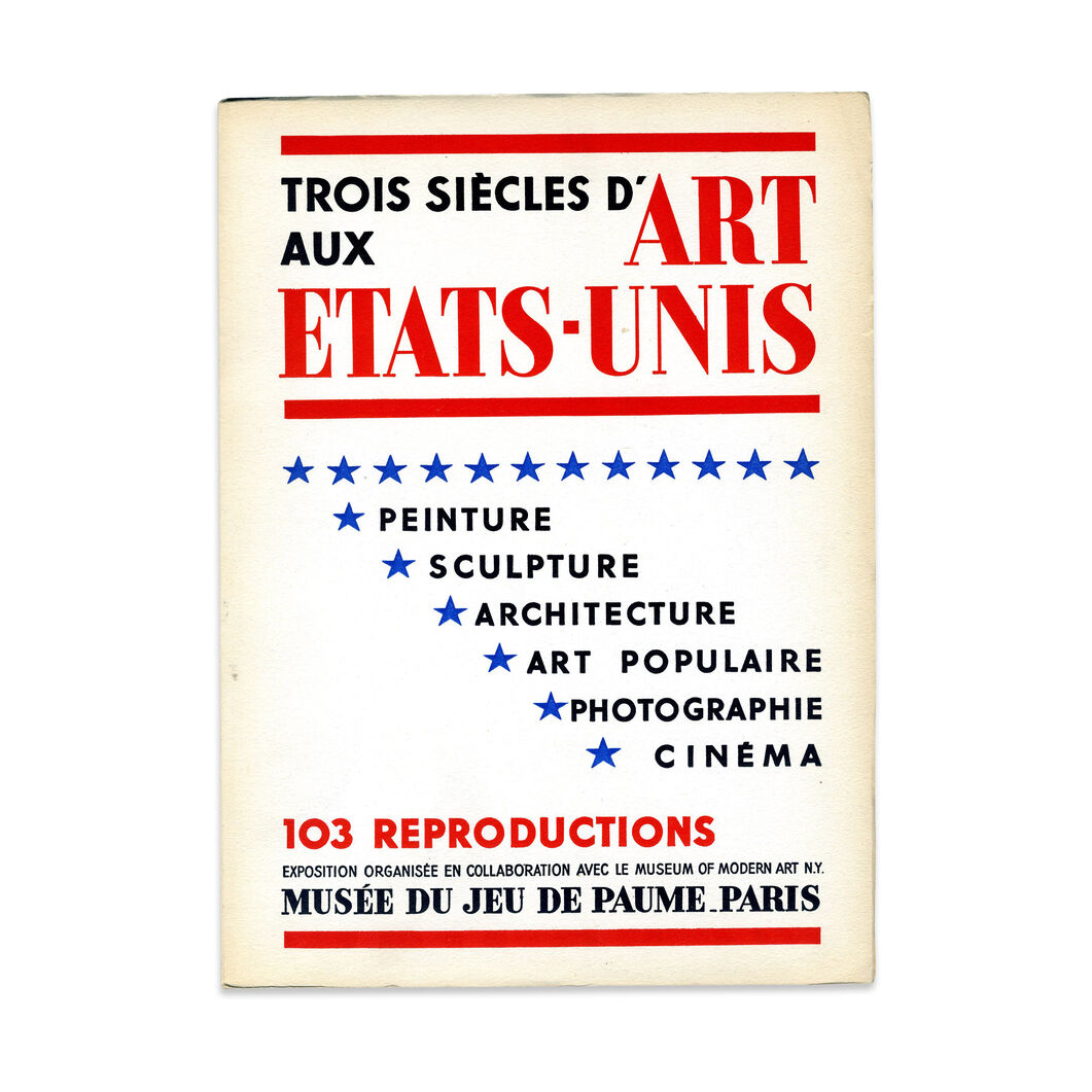 Trois siecles d-art aux Etats-Unis (2nd Edition) - Paperback (French text, illustrated) in color