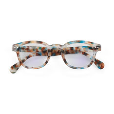 IZIPIZI Screen C Glasses - Blue Tortoise in color Blue Tortoise
