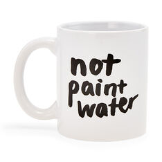 Not Paint Water Mug in color