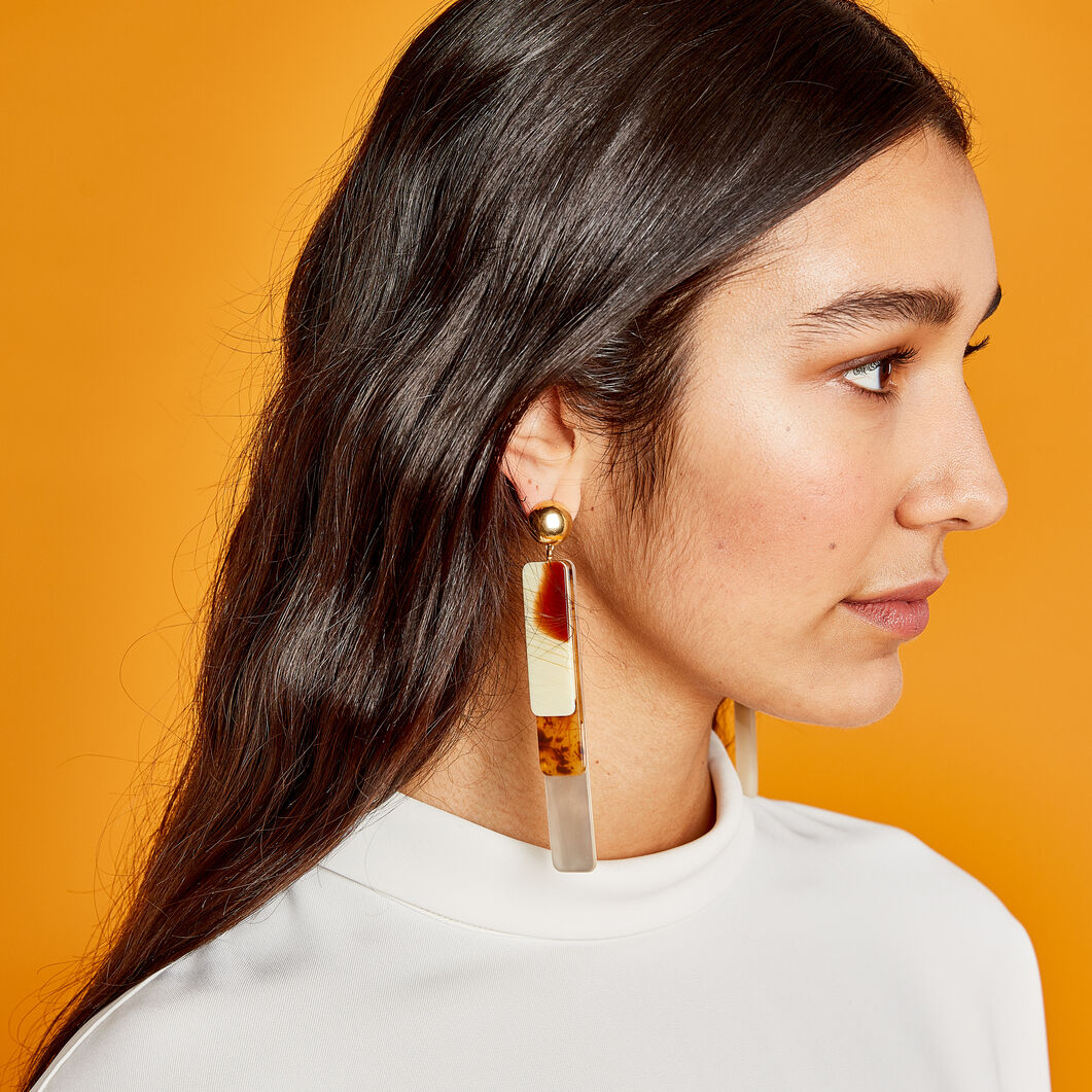 Rachel Comey Maras Earrings in color Beige