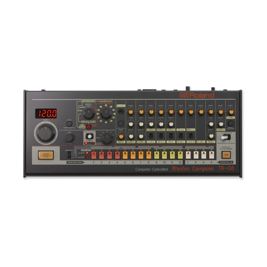 Roland Rhythm Composer Boutique TR-08 in color