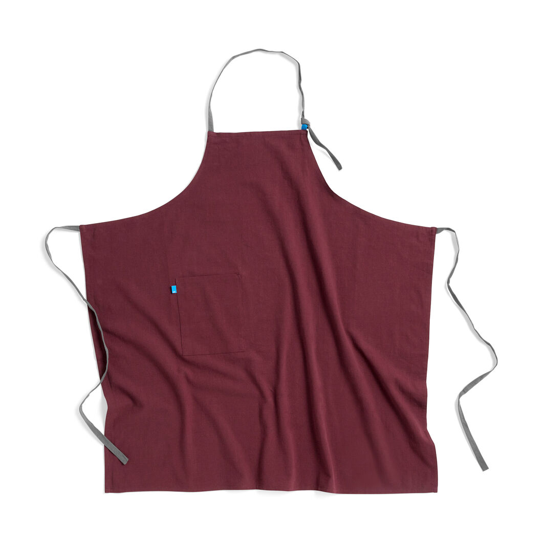 HAY Wrap Apron in color Burgundy