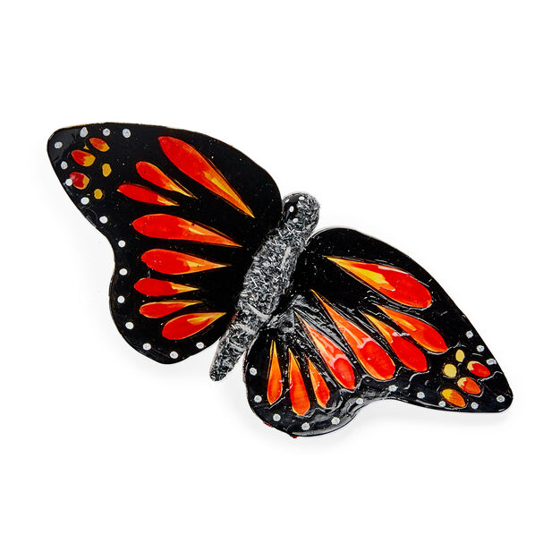 Monarch Butterfly Holiday Ornament in color