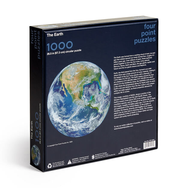 The Earth Jigsaw Puzzle - 1,000 Pieces in color