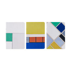 De Stijl Notebook Set in color