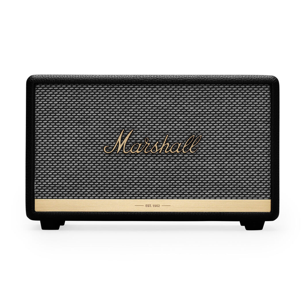 Marshall Acton II Bluetooth Speaker in color Black