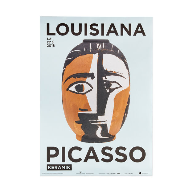 Pablo Picasso: Keramik Poster in color
