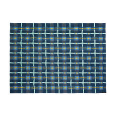 Chilewich Hopscotch Placemat in color Prussian Blue