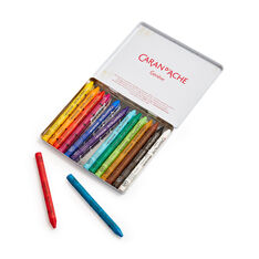 Caran d'Ache Neocolor Wax Pastels Crayons in color