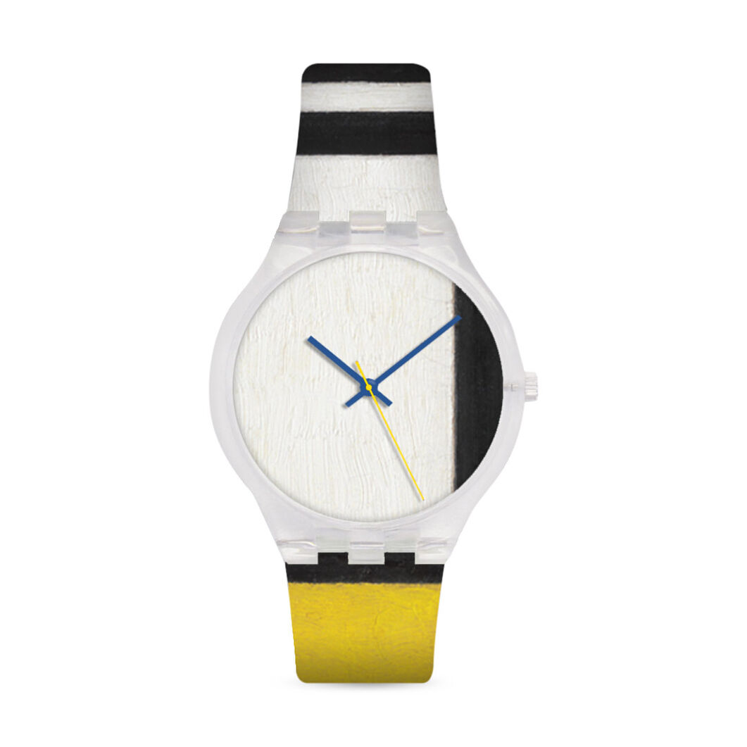 Mondrian White Watch in color