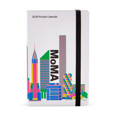 2020 MoMA Pocket Calendar in color