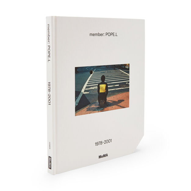 member: Pope.L, 1978-2001 - Hardcover in color