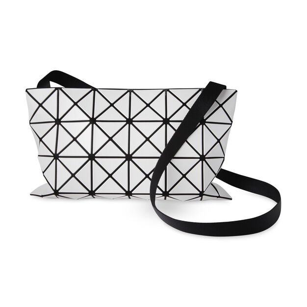 768585dd3099 BAO BAO ISSEY MIYAKE Large Lucent Basic Cross Body Bag- White in color White
