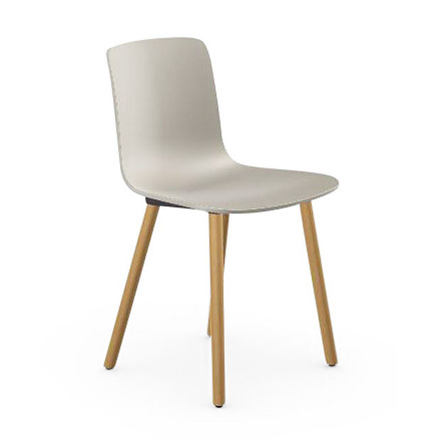 HAL Wood Chair in color Gray
