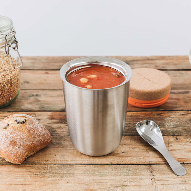 Thermo Pot with Magnetic Spoon in color