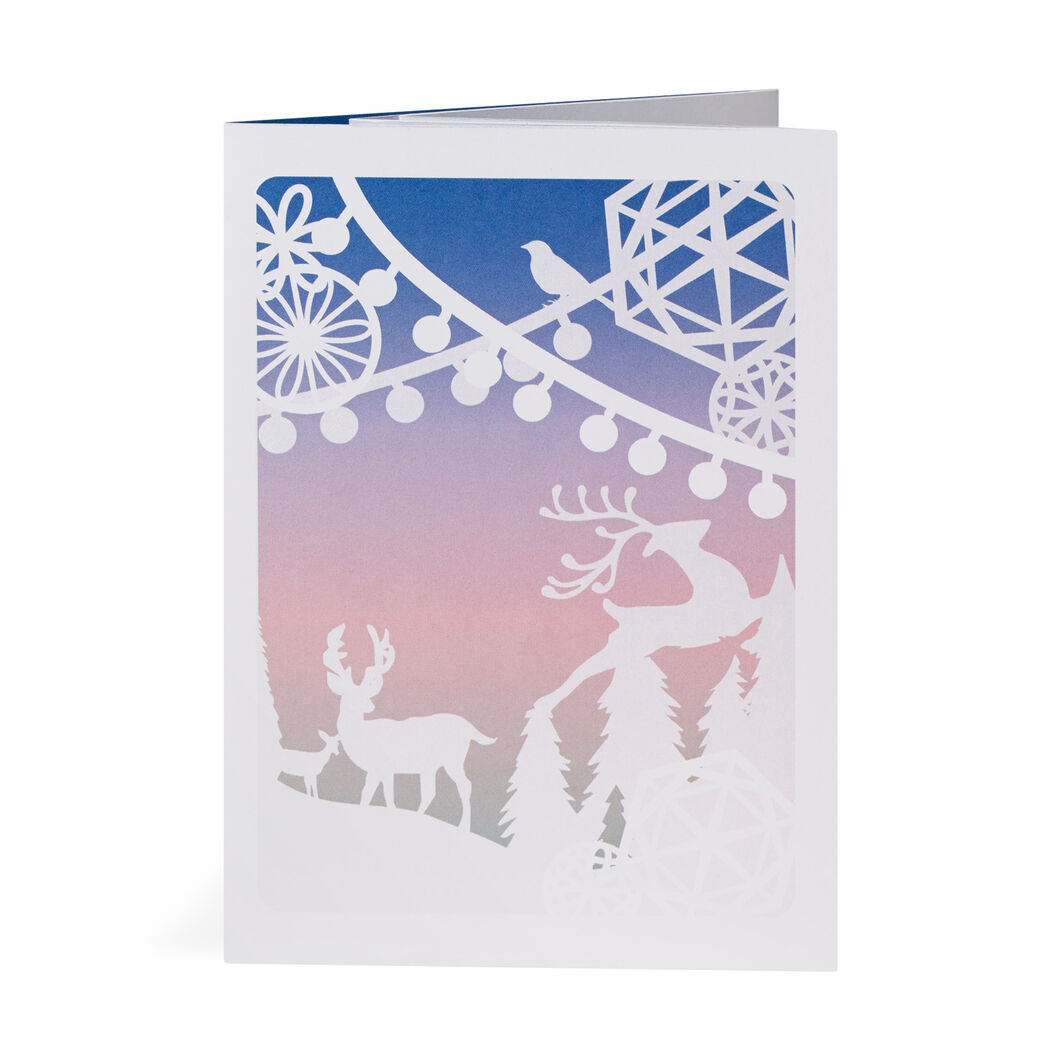 Winter Wonderland Holiday Cards in color