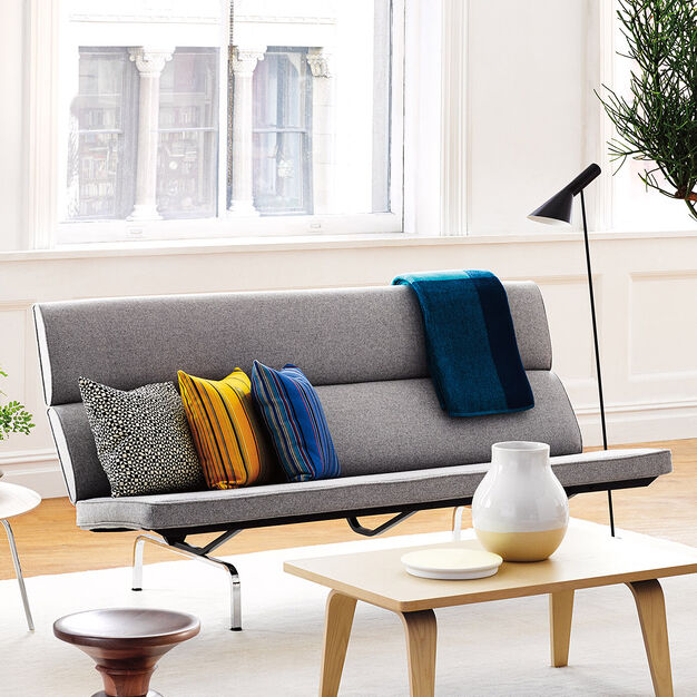 Eames© Compact Sofa from Herman Miller© in color