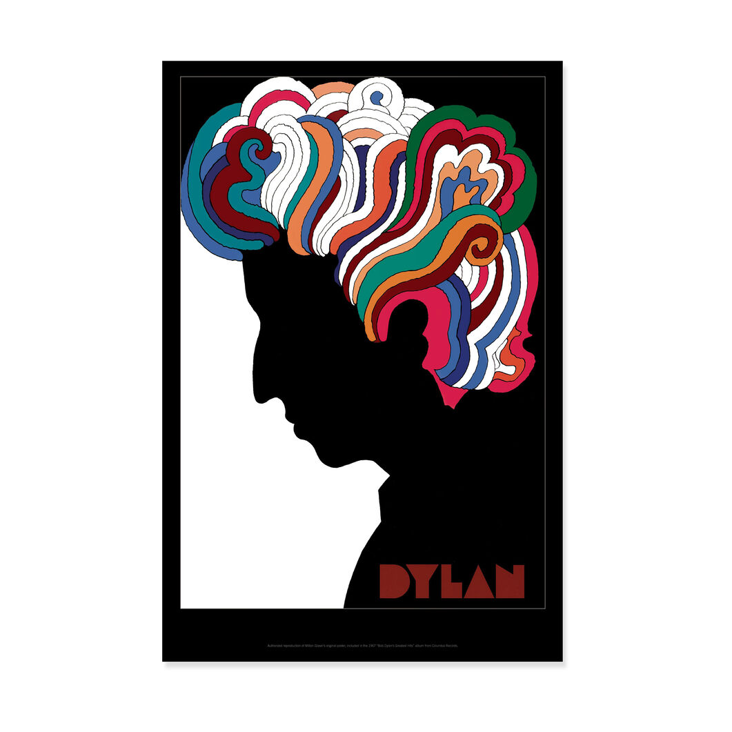 Milton Glaser: Dylan Poster in color