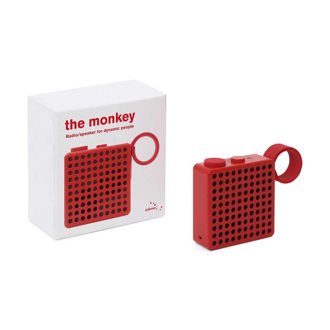 Monkey Radio & Speaker in color