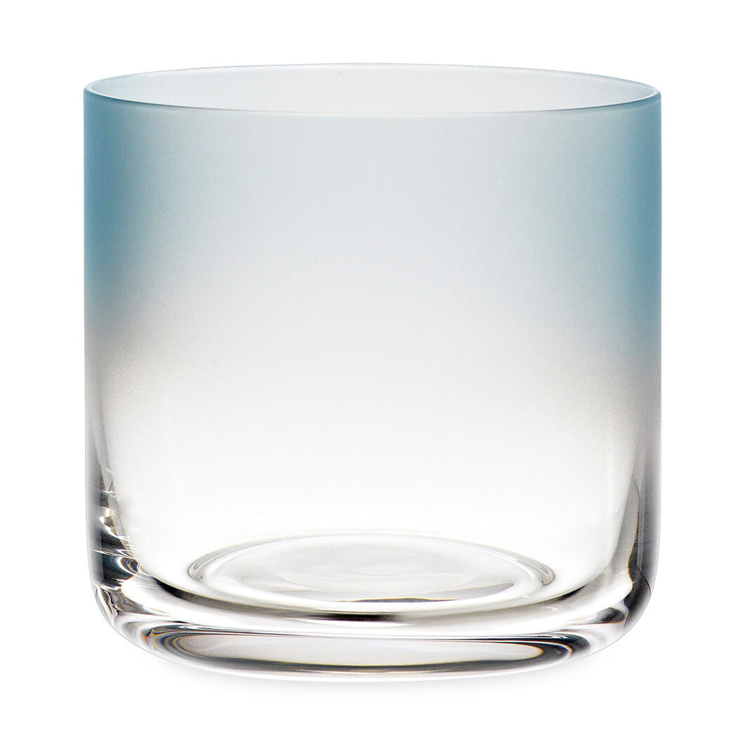 HAY Water Glass Low Blue Set of 4 in color