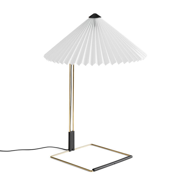 HAY Matin Table Lamps in color White