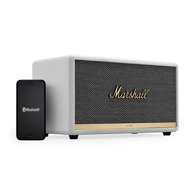 Marshall Stanmore II Bluetooth Speaker in color White