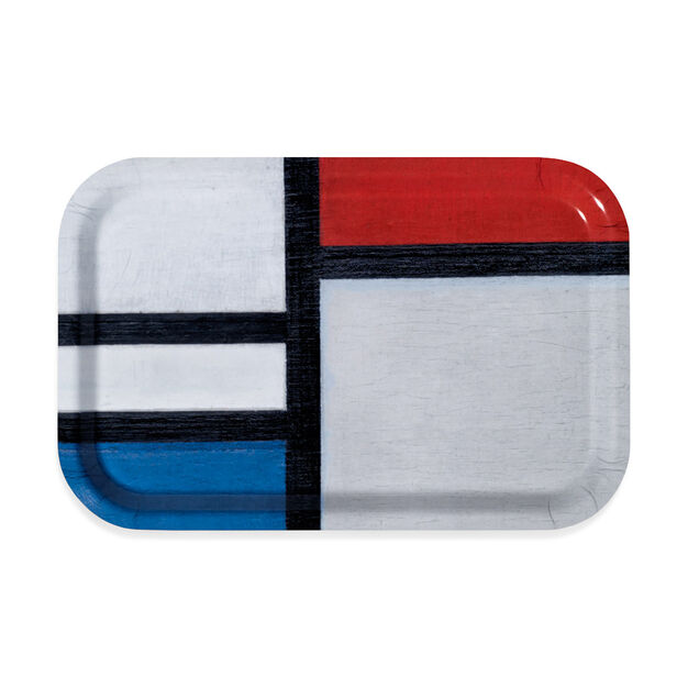 Mondrian Trays in color