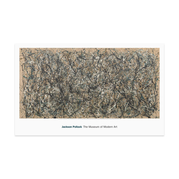 Pollock: One: Number 31 Poster in color