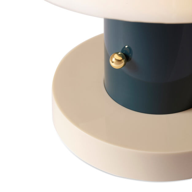Setago Portable Table Lamp in color Twilight/ Sand