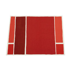 Chilewich Maptone Placemats in color Persimmon
