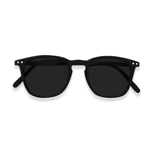 IZIPIZI Tapered Square Sunglasses #E in color Black